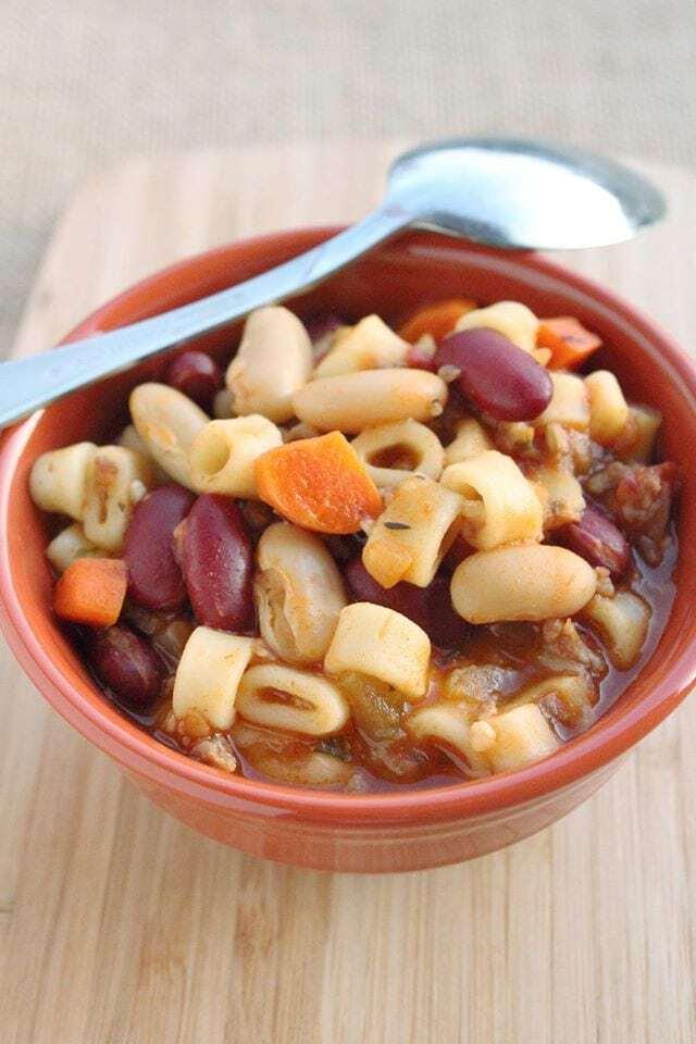 Copy Cat Olive Garden Pasta E Fagioli Soup Recipe Tammilee Tips