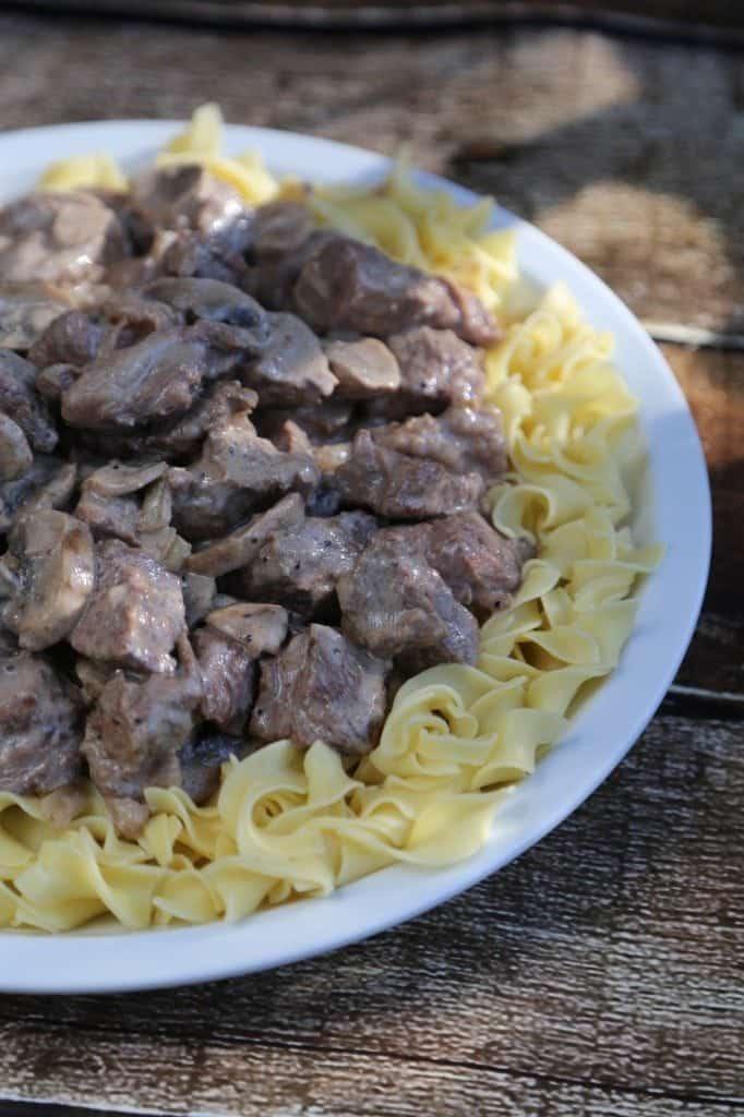 Crock Pot Steak Stroganoff Recipe