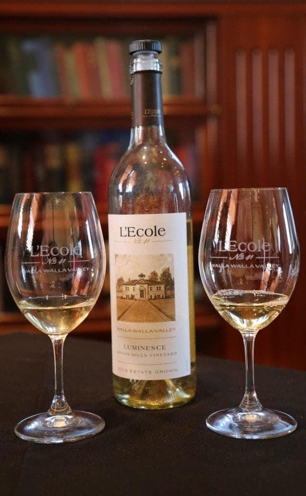 Luminesce Wine at L`Ecole No 41 Winery