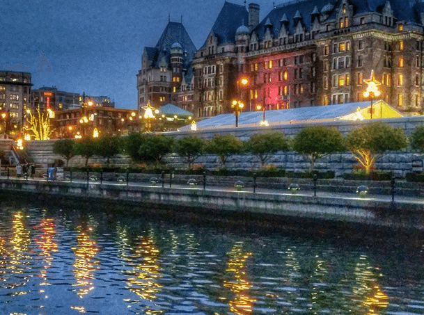 Daily Diary ~ Romantic Weekend Getaway to Victoria BC