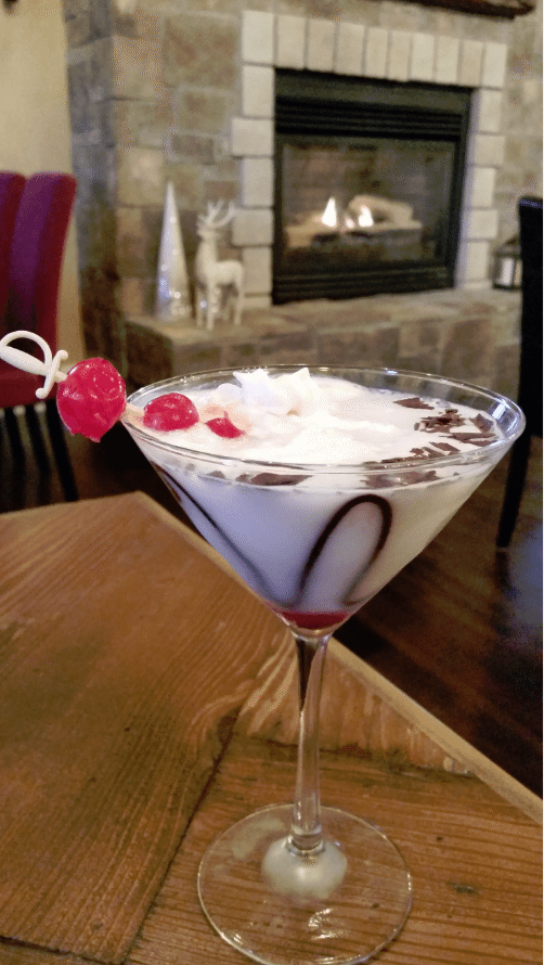 cork house cherry martini