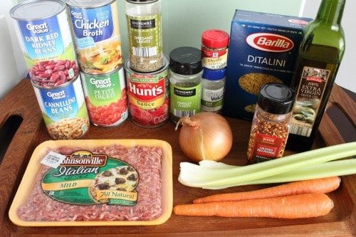 how to make olive garden pasta fagioli soup