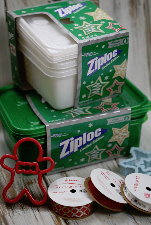 ziploc cookie container packaging