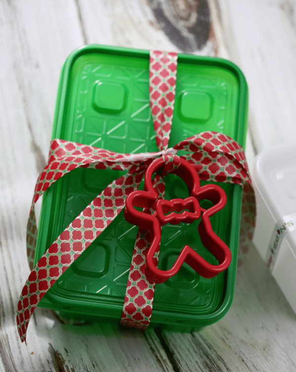 ziploc cookie container