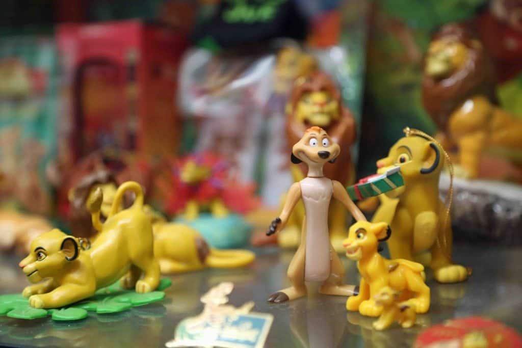 Blog Lion King at Branson Toy Museum