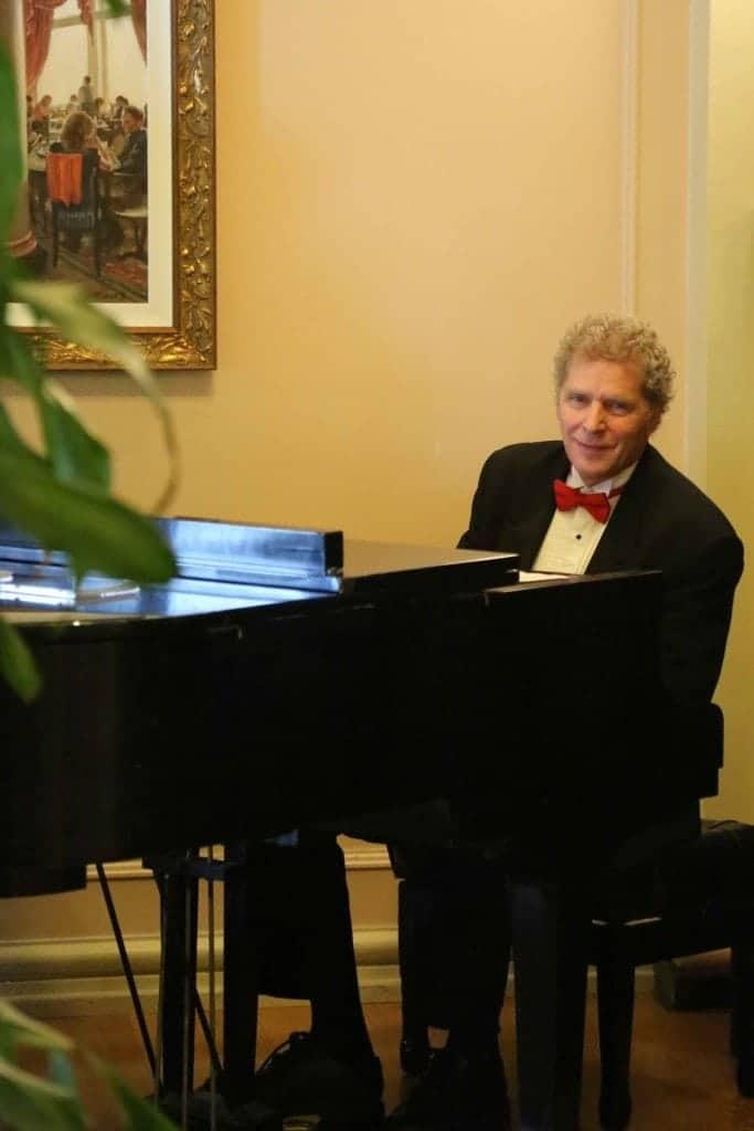Blog Piano at Afternoon Tea at the Empress Victoria BC