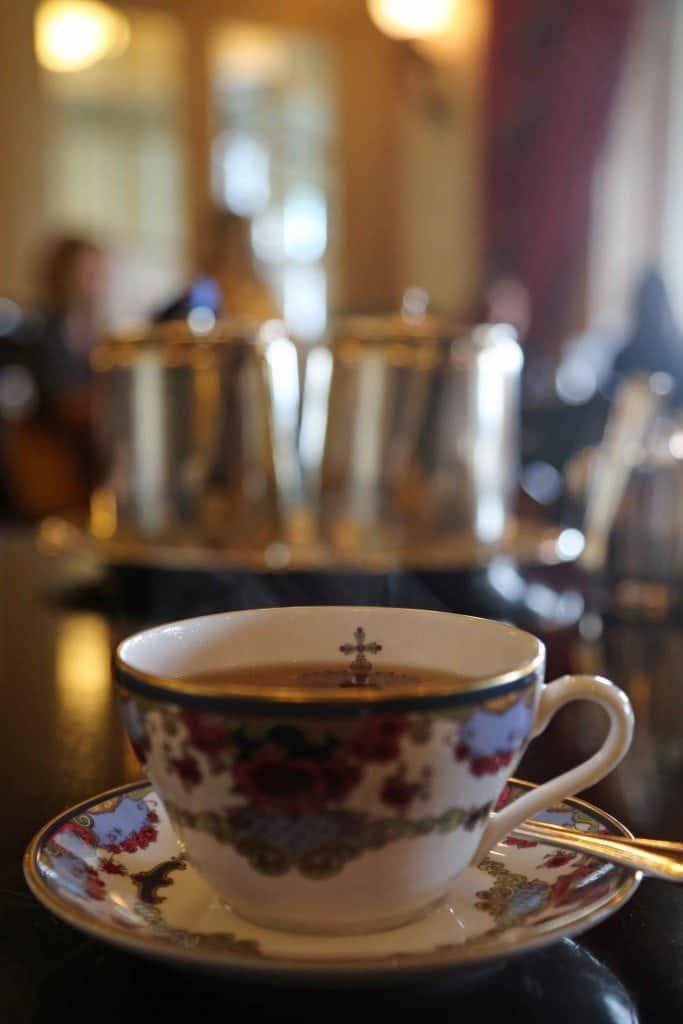 Blog Tea at the Empress Victoria BC