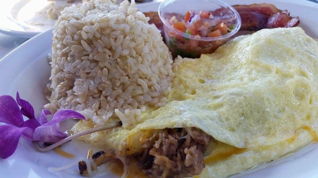 Blog breakfast at Island Lava Java