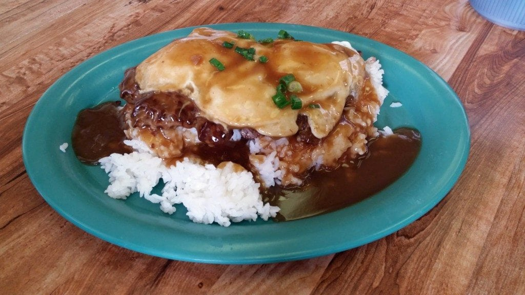 Blog loco moco at Hawaiian Style Cafe