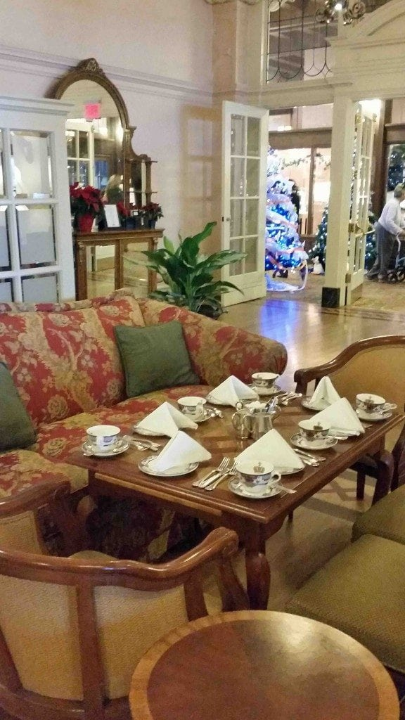 Blog seating at Afternoon Tea at The Empress Victoria BC