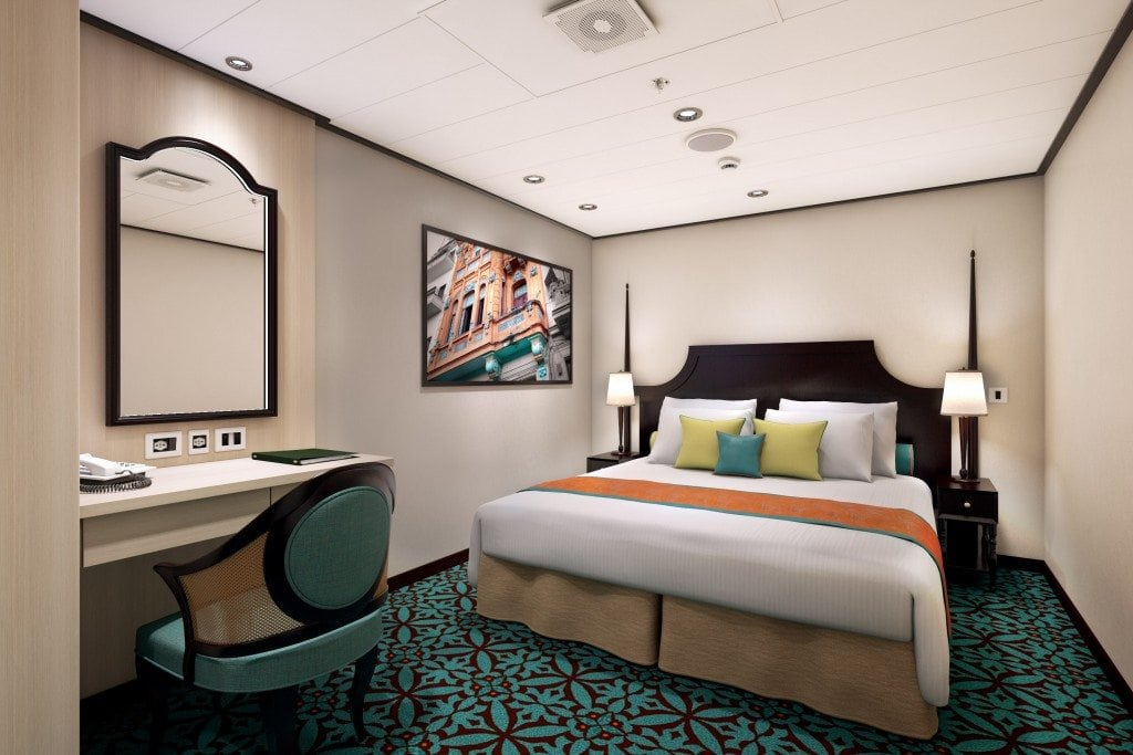 First Look At The Rooms On The Brand New Carnival Vista