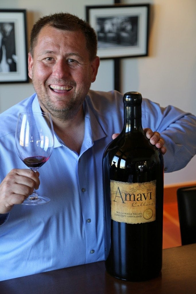 John at Amavi Cellars Walla Walla Washington