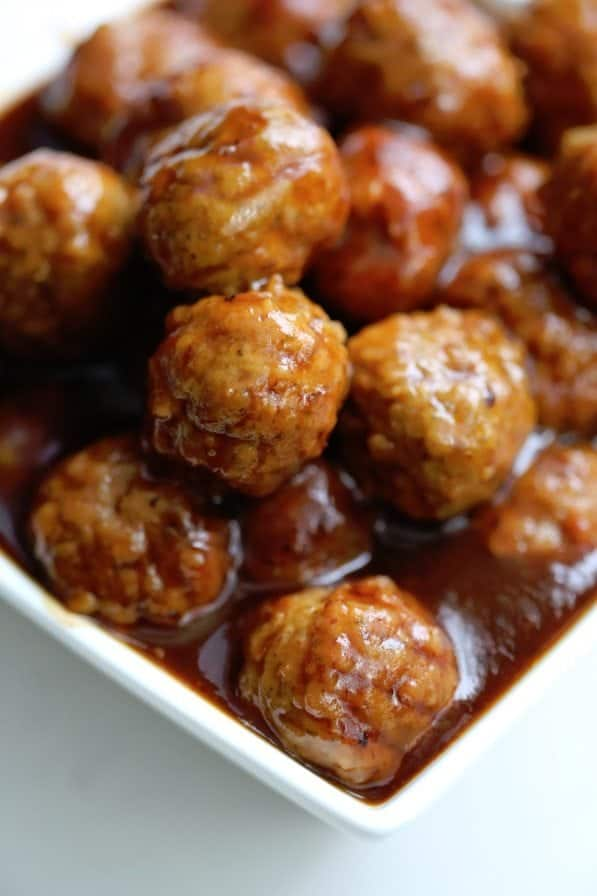 cranberry barbecue crock pot meatballs Recipe