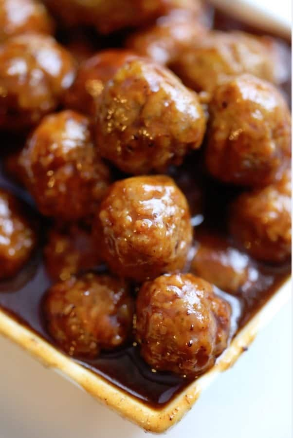crock pot cranberry barbecue meatballs Recipe