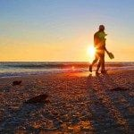Blog Sunset Beach Walk Sanibel Island Florida
