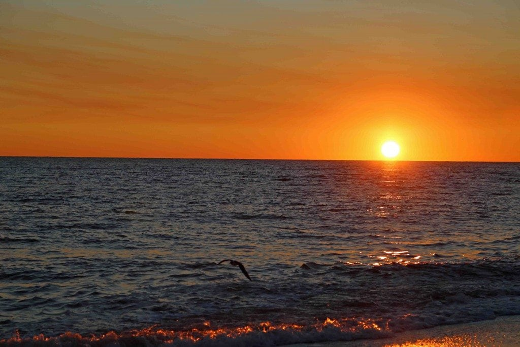 Blog breathtaking sunset Sanibel Island Florida
