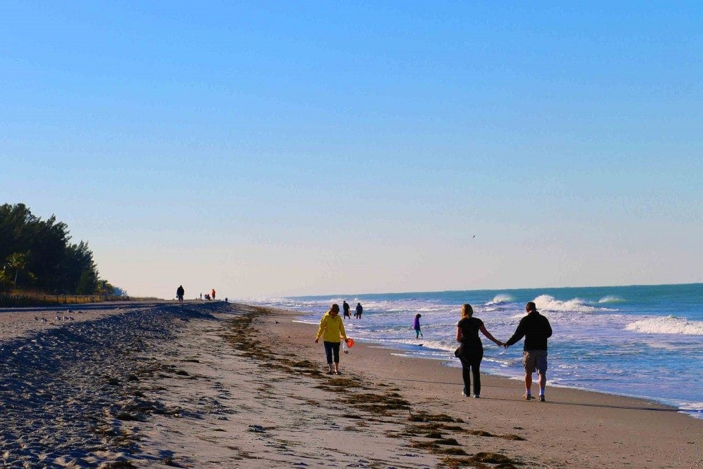 Blog walk on the beach Sanibel Island Florida