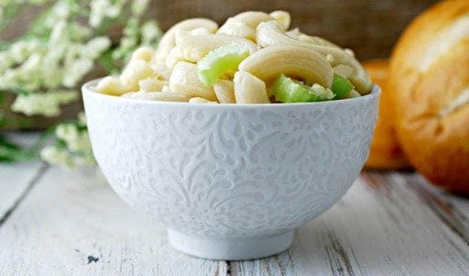 Fresh Macaroni Salad Recipe
