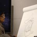 Floyd Norman Donald Duck Sketch 2
