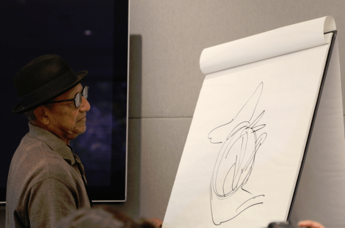 Disney Legend Floyd Norman talks about 101 Dalmatians and working for Walt Disney