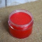 Homemade Peppermint Sugar Lip Scrub1