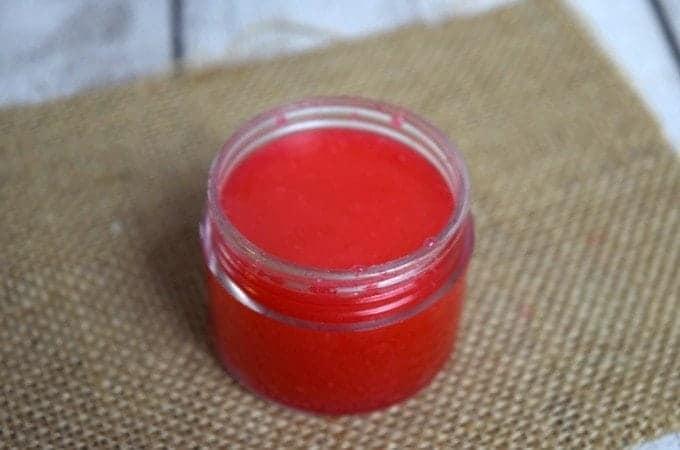 DIY Homemade Peppermint Sugar Lip Scrub