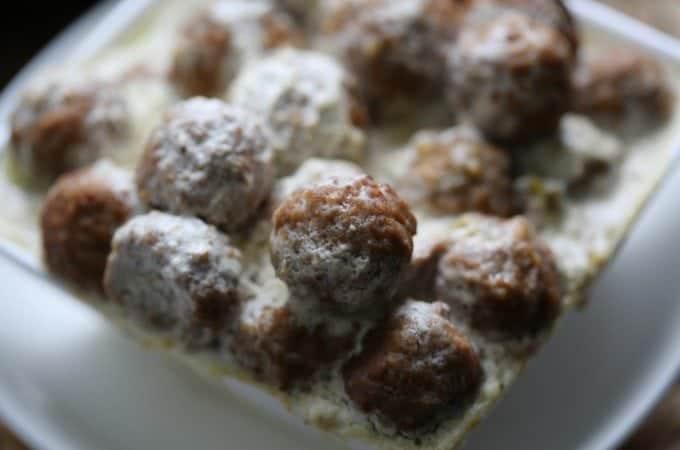 Crock Pot Swedish Meatballs Recipe