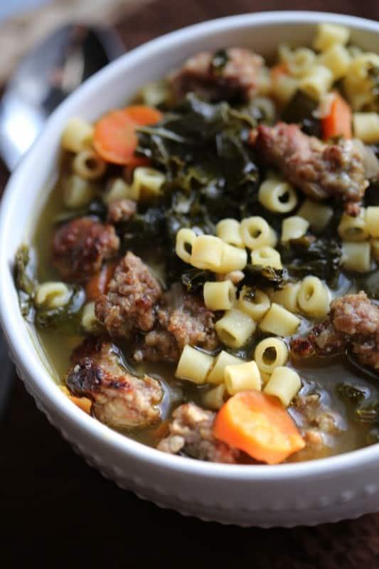 Crock Pot Italian Sausage Wedding Soup Recipe