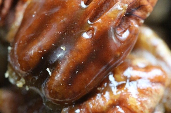 Guinness Glazed Pecans Recipe