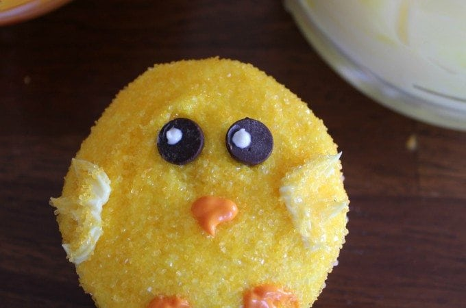 Chick Cupcakes How To