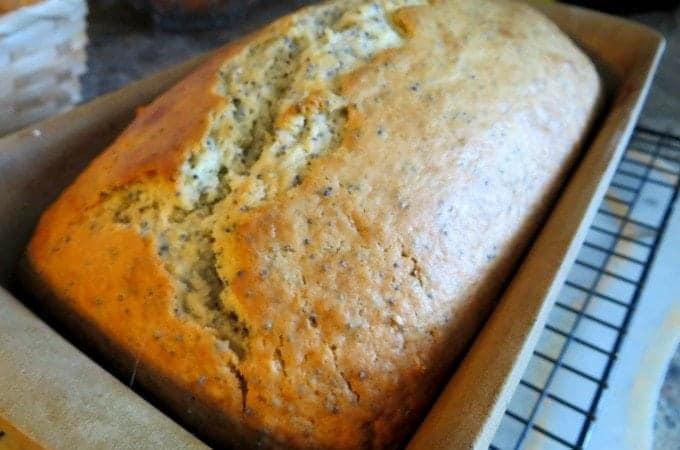 Lemon Almond Poppy seed Bread Recipe Tammilee Tips