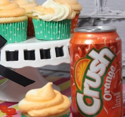 Orange Crush Soda Cupcake Recipe