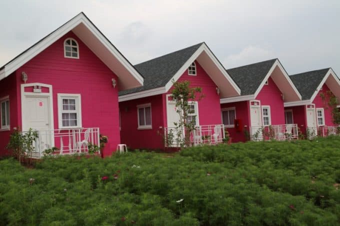 Hello Kitty Hotel in Phu Rua Thailand