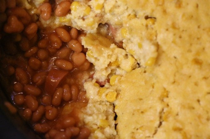 Crock Pot Corn Dog Casserole Recipe