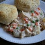 Crock Pot Chicken and Biscuit Pot Pie Recipe