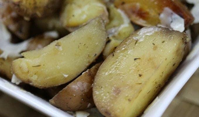 Crock Pot Parmesan Potatoes Recipe