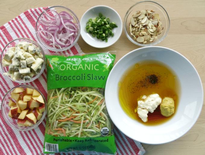 Broccoli Slaw Ingredients