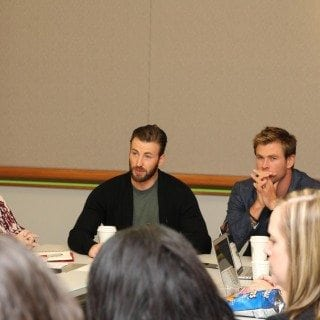 Chris Hemworth Chris Evans interview 1