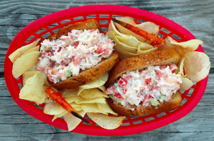 Crab Rolls Recipe