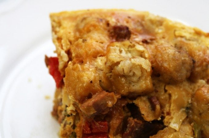 Crock Pot Tater Tot Breakfast Casserole Recipe