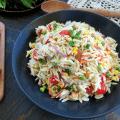 Orzo Pasta Salad with Bacon & Parmesan Vinaigrette Recipe Tammilee Tips