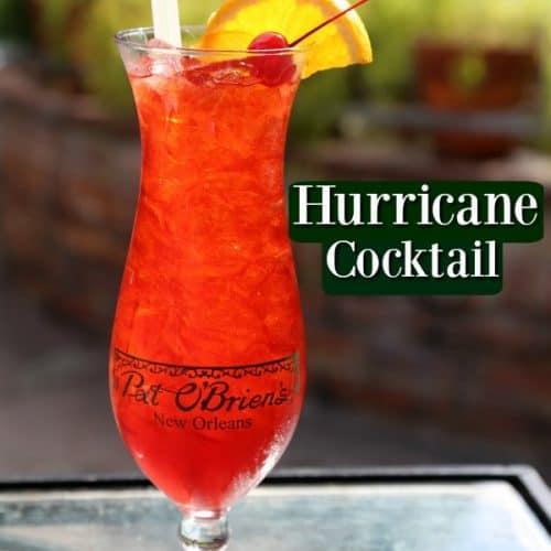 Copy Cat Pat O Brien Hurricane Cocktail