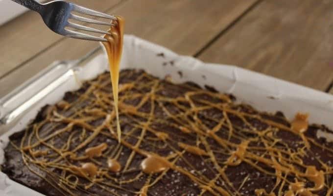 Salted Caramel Rice Krispie Treat Recipe