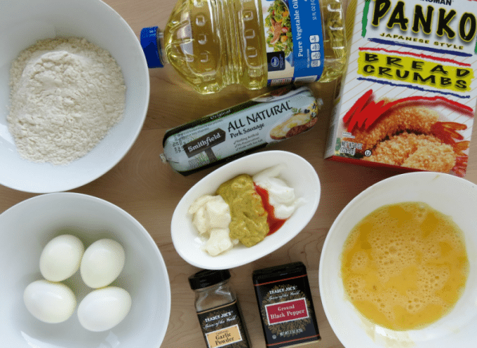 Scotch Eggs Ingredients