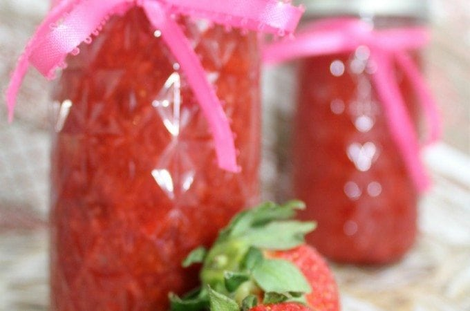 Strawberry Chipotle Jam Recipe