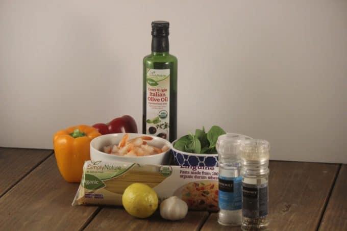 garlic shirmp linguini ingredients