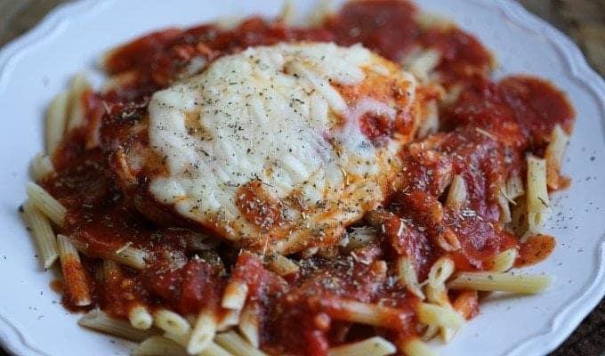 Crock Pot Chicken Parmesan Recipe