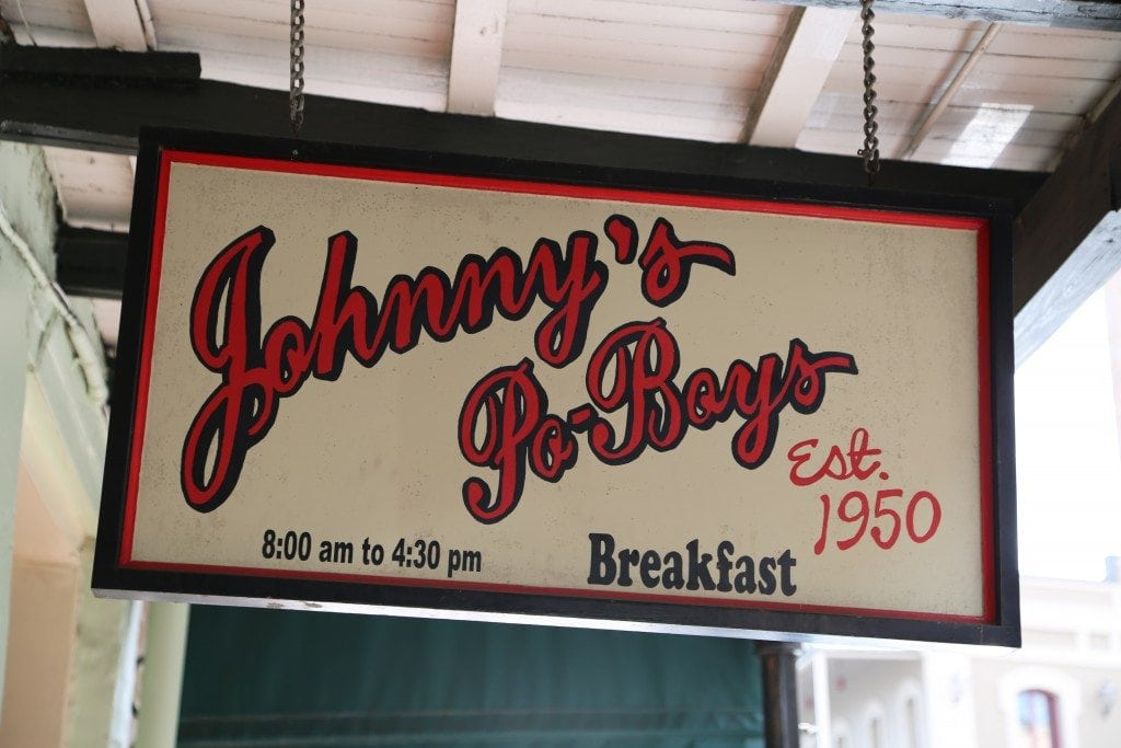 Johnnys PoBoy New Orleans