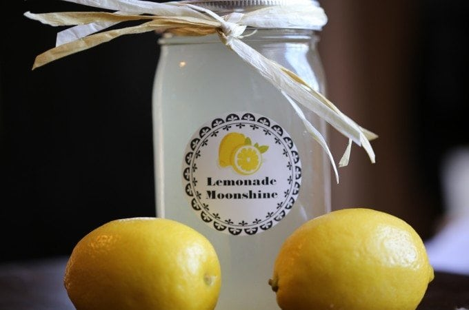 Slow Cooker Crock Pot Lemonade Moonshine Recipe