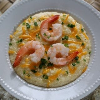 Crock Pot Shrimp and Cheese Grits Recipe